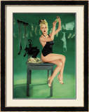 Pin-Up Girl: The Counterfeit Framed Giclee Print by Richie Fahey