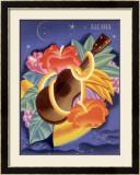 Aloha Ukulele Framed Giclee Print by Frank Mcintosh