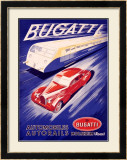 Bugatti Framed Giclee Print by R. G&#233;ri