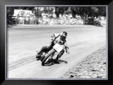 Steve Eklund Flat Track San Jose Mile Framed Giclee Print by Jerry Smith