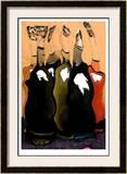 Singing Bottles I Limited Edition Framed Print by  Lepain