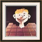 チョコレート(1988年) ポスター : レイモン・サヴィニャック