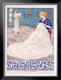 Brautausstattungen Framed Giclee Print by Burkhard Mangold