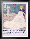 Brautausstattungen Framed Giclee Print by Burkhard Mangold