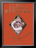 La Revue Folies Bergere Framed Giclee Print
