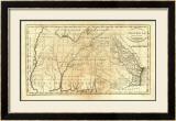State of Georgia, c.1795 Framed Giclee Print by Mathew Carey