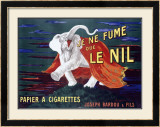 Je Ne Fume Le Nil, Papier a Cigarettes Framed Giclee Print by Leonetto Cappiello