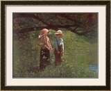 Fishin' Posters by Winslow Homer