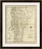 Vermont, c.1796 Framed Giclee Print by John Reid