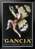 Gancia, Gran Spumenta Framed Giclee Print by Leonetto Cappiello