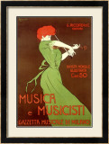 Musica e Musicisti Framed Giclee Print by Leonetto Cappiello