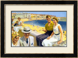 Bridlington, LNER, 1938 Framed Giclee Print by Septimus Scott