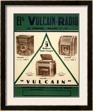Vulcain Radio Prints