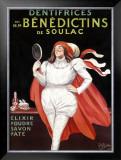 Benedictins de Soulac Framed Giclee Print by Leonetto Cappiello