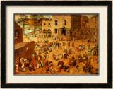 Children's Games Posters by Pieter Bruegel the Elder