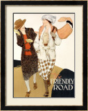 YWCA, The Friendly Road Framed Giclee Print by Anita Parkhurst