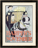 Harper's Weekly, November, 1896 Framed Giclee Print by Edward Penfield