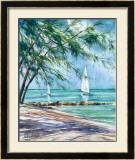 Sail Along Print by Lois Brezinski