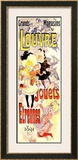 Louvre, Jouets-Etrennes Framed Giclee Print by Jules Chéret