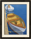 Two Dinghy&#39;s Poster by Greg Snead