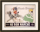 Au Bon Marche Framed Giclee Print