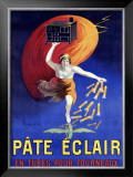 Pate Eclair Framed Giclee Print by Leonetto Cappiello