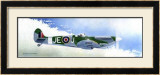 Spitfire MK9 Framed Giclee Print by Douglas Castleman