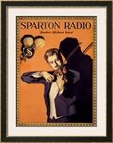Sparton Radio Framed Giclee Print