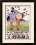Max Buri, Kunstsalon, Wolfsberg Framed Giclee Print by Max Buri