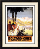Visitate Bolzano, Gries Framed Giclee Print by Franz Lenhart
