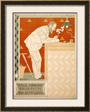 Paul Hankar Framed Giclee Print by Paul Crespin
