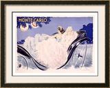 Monte Carlo Framed Giclee Print