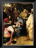 Adoration of the Kings, c.1564 Prints by Pieter Bruegel the Elder