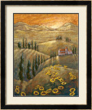 Tuscan Sunflowers II Art by Marshall Banks