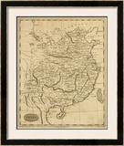 China, c.1812 Framed Giclee Print by Aaron Arrowsmith