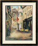 Old Town II Poster by Marilyn Hageman