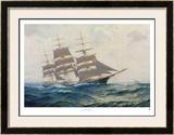 Toward Far Horizons, Ship Triumphant Print by Frank Vining Smith