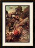 Boulter's Lock: Sunday Afternoon Posters by Edward John Gregory