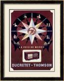 Ducretet-Thomson French Radio Framed Giclee Print