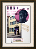 Bonn on Rhine, Birthplace of Beethoven Framed Giclee Print by Austin Cooper