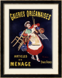 Galeries Orleanaises Framed Giclee Print by Leonetto Cappiello