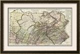 Pennsylvania, c.1797 Framed Giclee Print by Daniel Friedrich Sotzmann