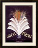 Orell Fussli Framed Giclee Print by Charles Loupot