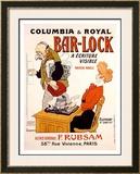 Bar-Lock Framed Giclee Print by  Grignon