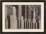 New York Helicopter Prints by Hank Gans