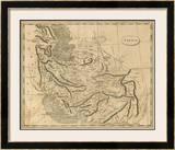 Persia, c.1812 Framed Giclee Print by Aaron Arrowsmith