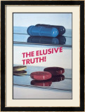 The Elusive Truth! Psters por Damien Hirst