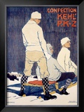 PKZ, 1909 Framed Giclee Print by Burkhard Mangold