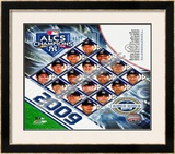 2009 New York Yankees ALCS Champions Framed Photographic Print