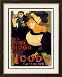 Hood's Sarsaparilla Framed Giclee Print by William H. Bradley
